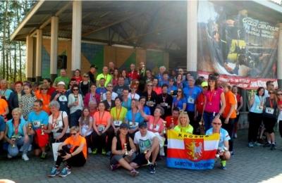 Zawody sportowe nordic walking - relacja