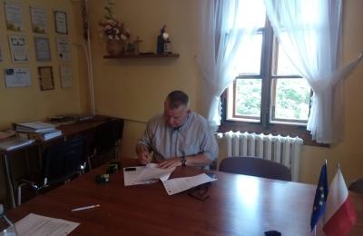 Podpisanie umowy na wydarzenia kulturalne
