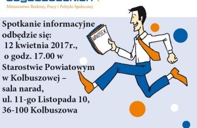 """12 kwietnia 2017 - spotkanie informacyjne """"Podkarpackie Inicjatywy Lokalne 2017"""""""
