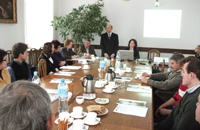 Posiedzenie Rady Stowarzyszenia rozpoczynające Procedurę wyboru operacji w ramach działań osi 4 LEADER - 19.01.2010r.