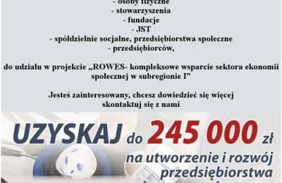 Rzeszowski Ośrodek Wsparcia Ekonomii Społecznej zaprasza