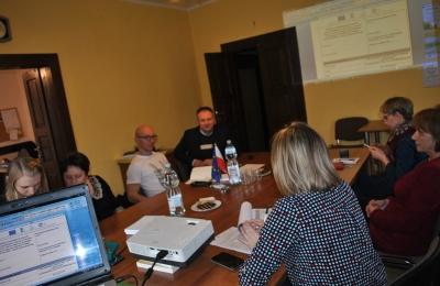 Realizacja planu komunikacji - spotkanie informacyjne