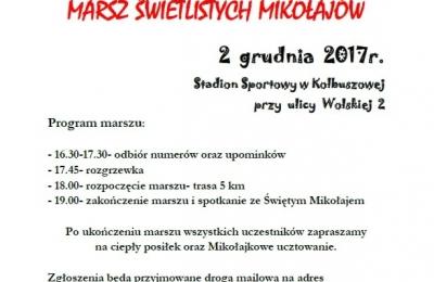 Marsz Mikołajkowy w Kolbuszowej