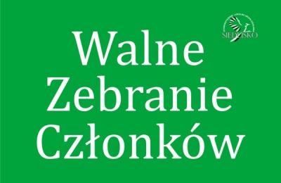 24 października 2017- Walne Zebranie Członków