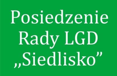 """5 lutego 2021 - posiedzenie Rady LGD """"Siedlisko"""" w sprawie protestów"""