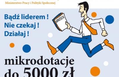 Nabór wniosków dla organizacji do 5000 zł